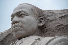 Free Close Up Of Dr. Martin Luther King Jr. Monument In Washington DC. USA Stock Photo - 200266800