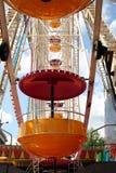 Close Up Of Ferris Wheel