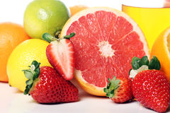 Close Up Of Fresh Fruits Stock Images