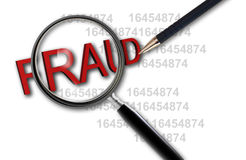Free Close Up Of Magnifying Glass On Fraud Stock Photo - 37424040