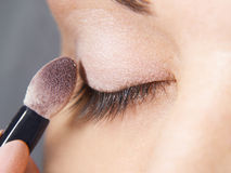 Close Up Of Make Up Royalty Free Stock Photography