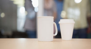 Free Close Up Of Mug On The Desk Royalty Free Stock Images - 57374539