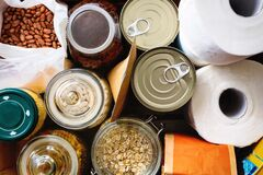 Free Close Up Of Non-perishable Food. Royalty Free Stock Photography - 183985167