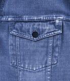 Close-up Of Old Blue Jeans Pocket Stock Images