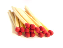 Close Up Of Pile Of Matches Royalty Free Stock Photo
