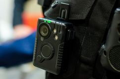 Free Close-up Of Police Body Camera Stock Images - 161877604