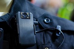 Free Close-up Of Police Body Camera Stock Photos - 161877733
