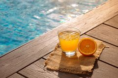 Free Close Up Of Screwdriver Cocktail Alcohol Drink With Orange Juice Stock Photo - 118410950
