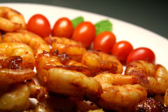 Free Close-up Of Seafood Plate Royalty Free Stock Photo - 424035