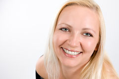 Free Close Up Of Smiling Womans Face Stock Image - 31986571