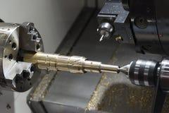 Free Close Up Of The CNC Lathe Turning Machine Royalty Free Stock Photo - 109186125