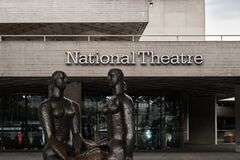 Free Close-up Of The Entrance To Royal National Theatre Royalty Free Stock Photo - 194617945