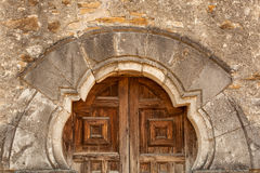 Free Close Up Of The San Espada Mission Church Doors Stock Photography - 62374512