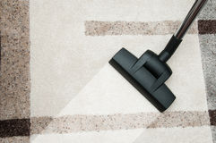 Free Close Up Of Vacuum Cleaner Nozzle Cleaning Carpet At Home Stock Photo - 65911870