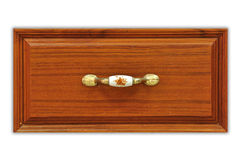 Close Up Of Wooden Desk Drawer Stock Photos