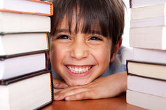 Close-up Of Young School Kid Stock Image