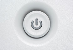 Close up for On - Off Button Royalty Free Stock Images