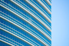 Close up Office buildings glass window pattern Stock Photos