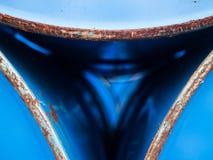 Close up oil barrels Stock Images