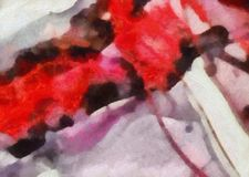 Close up oil paint abstract background. Art textured brushstrokes in macro. Part of painting. Old style artwork. Dirty watercolor. Impression color mix abstract royalty free stock image