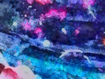 Close up oil paint abstract background. Art textured brushstrokes in macro. Part of painting. Old style artwork. Dirty watercolor. Impression color mix abstract royalty free stock photography