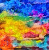 Close up oil paint abstract background. Art textured brushstrokes in macro. Part of painting. Old style artwork. Dirty watercolor. Impression color mix abstract royalty free stock photo