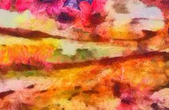 Close up oil paint abstract background. Art textured brushstrokes in macro. Part of painting. Old style artwork. Dirty watercolor. Impression color mix abstract royalty free stock images