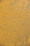 A close up of oil pollution on water. Royalty Free Stock Images
