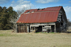 Close up of Old Barn Royalty Free Stock Photo