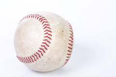 Close up the old baseball Stock Images
