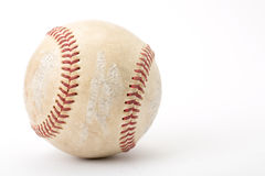 Close up the old baseball Royalty Free Stock Photos