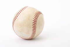 Close up the old baseball Royalty Free Stock Photography