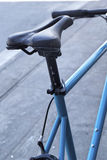 Close up old bicycle seat Royalty Free Stock Photography