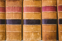 Close up of old books Royalty Free Stock Images