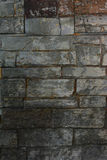 Close-up old brick gray brick texture for background stock image