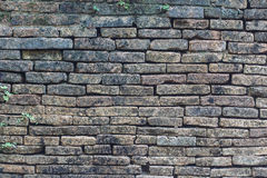Close up of old  brick-wall, texture background Royalty Free Stock Images