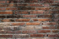 Close up of the old brick wall. Close up of the weathered brick wall Royalty Free Stock Photo
