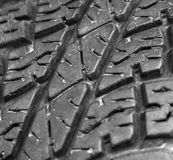 Close up of old car tire texture background Stock Image