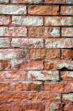 Close up of Old Century Home Brick Wall Stock Photography