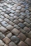 Background of cobblestones Stock Photo