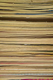 Close Up of Old Comics. Aged Royalty Free Stock Photo