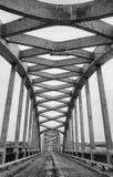Close up old concrete bridge Royalty Free Stock Photos