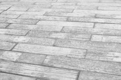 Old concrete floor in plank patterns background. Close up Old concrete floor in plank patterns background stock photo