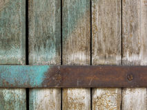 Close-up of old  decayed brown wooden fence Stock Photos