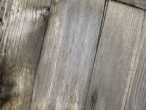 Close-up of old  decayed wooden fence Stock Images