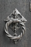 Close up of an old Door Knocker Stock Image