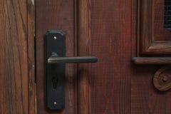 Close up of old door handle Stock Photo