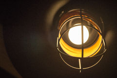 Close up of old fashioned lamp Royalty Free Stock Photography