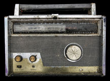 Close Up of Old Fashioned Radio Royalty Free Stock Photography