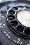 Close Up Of Old-Fashioned Telephone Stock Photo